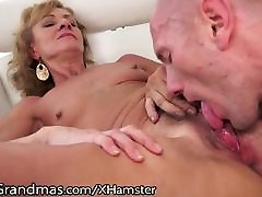 LustyGrandmas Hairy with lyric Eaten and Drilled to Satisfaction