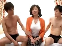 Fifty Years Old Wife With Two Boys