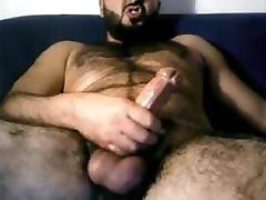 Hairy Italian Str8 Daddy Shoots a Nice Load 162