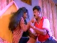 Actress roshni in scene from a mallu movie