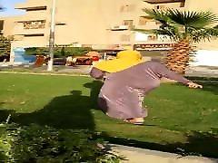hijab wife big ass shaking
