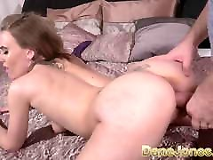 Dane Jones Horny British nympho POV blowjob and standing 69