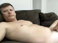 cute dad has a hot cock