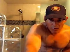 muscular fetish cbt sex dad flashes his cock