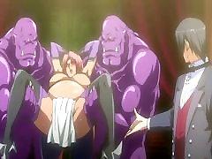 Bondage pregnant hentai with bigboobs double