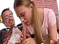 Lustful older teacher is seducing babe&039s lusty beaver