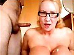 Slutty Milf loves a dug sex shot