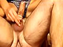Strong scenes of coarse sex with amateurs in love with one-eyed monster