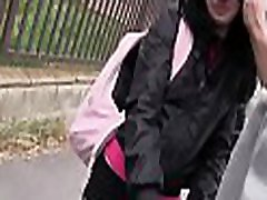 Severe scenes of amateur video with a horny blonde in heats