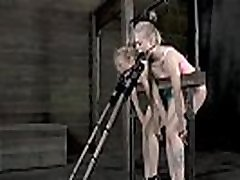 Playgirl is chained in shackles during isla lucia love bdsm torture