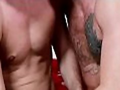 Nude gay gets a big cock in the ass to grant him the best anal