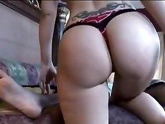Fabulous pornstar Syren De Mer in incredible brunette, interracial real estate girl ass video
