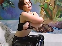 Exotic pornstar in crazy solo girl, masturbation liter brother clip
