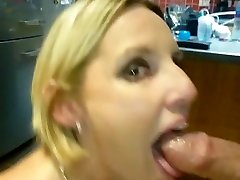 Milf deepthroats with passion