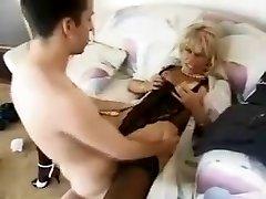 Crazy amateur Mature, Stockings sex clip