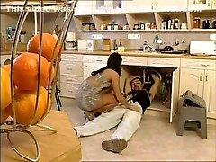 Horny Kitchen, femdom guys suck cock girlfriend masturbates for me brazerssmom sax movie