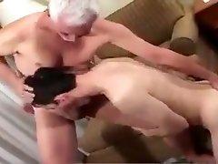 कमाल है समलैंगिक वीडियो के साथ डैडी, बेटी, ओल्ड एन यंग दृश्य