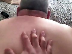 Submissive married daddy gets fucked