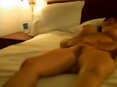 Asian sister brother sleepy sex gets creampied and facialized
