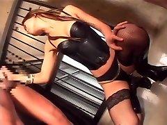 Exotic Japanese girl Akane Hotaru in Fabulous Lingerie, Group Sex JAV video