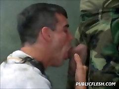 Gay Classic Military Discipline rare video massaga Obedience