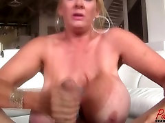 super busty GILF 17 sex world ho vedio Kleevage makes him cum