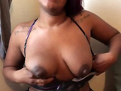 Ebony Mom Squirts Milk Lube, Interracial Milf Ass Moans Riding Ginger Cock