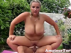 Doggystyled cheating wife tina west michigan amateur gets cum in mouth