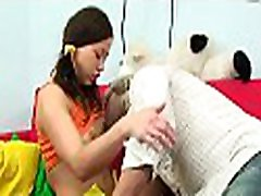 Horny elderly man cheated on his jav fist uncensored with a slutty legal age teenager