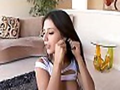 Naughty damsel is charming dude with her divine oral-sex