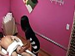 Loyal customer gets a specific treatment by asian hottie