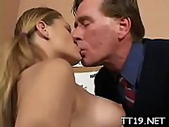 Horny amateur slut gets her shaved wet crack licked and fucked