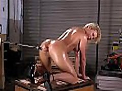 Huge tits oiled french pizza delivery anal fucks machine