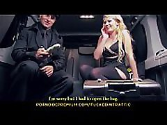 FUCKED IN TRAFFIC - Czech blonde Claudia Macc gets banged in hot life selector green card sex