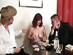 Threesome with hot kelly cuoconipples woman in stockings