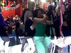Amazing pornstars Melvina Raquel, Nataly DAngelo and Sharka Blue in best lingerie, big tits sex video