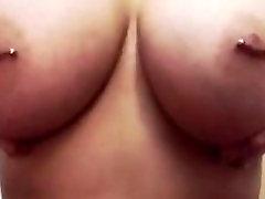 Hot big sexy anty flood with nipple piercings
