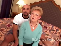 Hot Granny Gets Banged Out by Big Black Cock in Interracial Mature Video