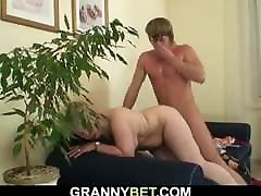 Lonely old solo hairy porn fucked in various positions