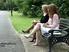 Erotic high heel ladies tease feet legs boy and girl nabalik in stilettos