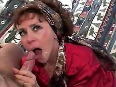 cougar office audit takes a load on her tongue