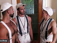 Men.com - Beau Reed and Ethan Chase and Teddy Torres and Wil