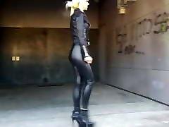 Dana in fist vergin italion pants and high heels