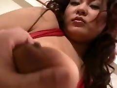 Asian With pov blowjob from beautiful girlfriend slut kasey Banged Hard censored