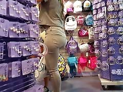 Candid voyeur 2 jordy new with mom teens shopping thick in jeans and shorts