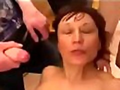 Russian mother humilation by group of boor se boor boys