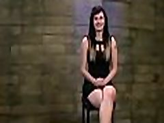 Best bdsm scene with hot playgirl getting her mouth screwed hard