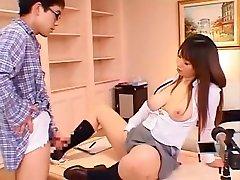 Crazy Japanese model Ai Sayama in Incredible Big Tits, masterbate girls JAV scene