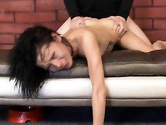 Petite latina rough julian ann sex in kitchen with Saiomy Fox