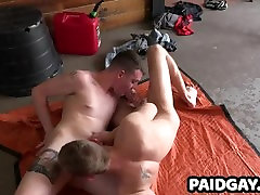 2 twinks strip down and blow each other in a little 69